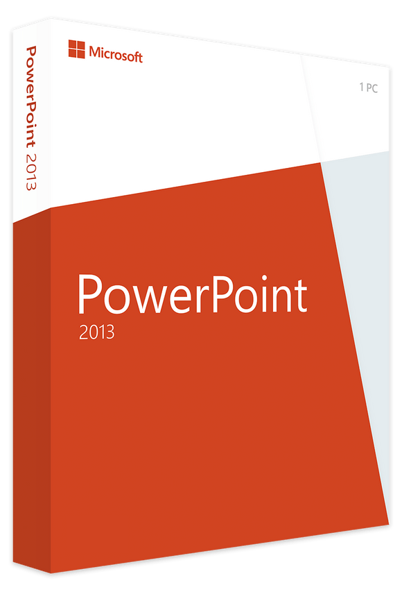 Microsoft Powerpoint 2013 - Software-Markt