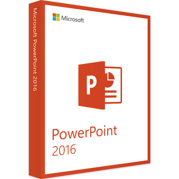 Microsoft Powerpoint 2016 - Software-Markt