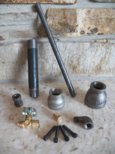 Load image into Gallery viewer, Burner Kit - RushfireForgeShop Forging Tools Blacksmithing Blacksmith Forge Iron