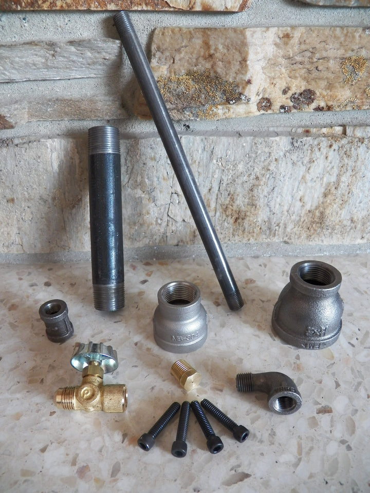 Burner Kit - RushfireForgeShop Forging Tools Blacksmithing Blacksmith Forge Iron