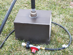 Single Burner Propane Blacksmith Forge - RushfireForgeShop