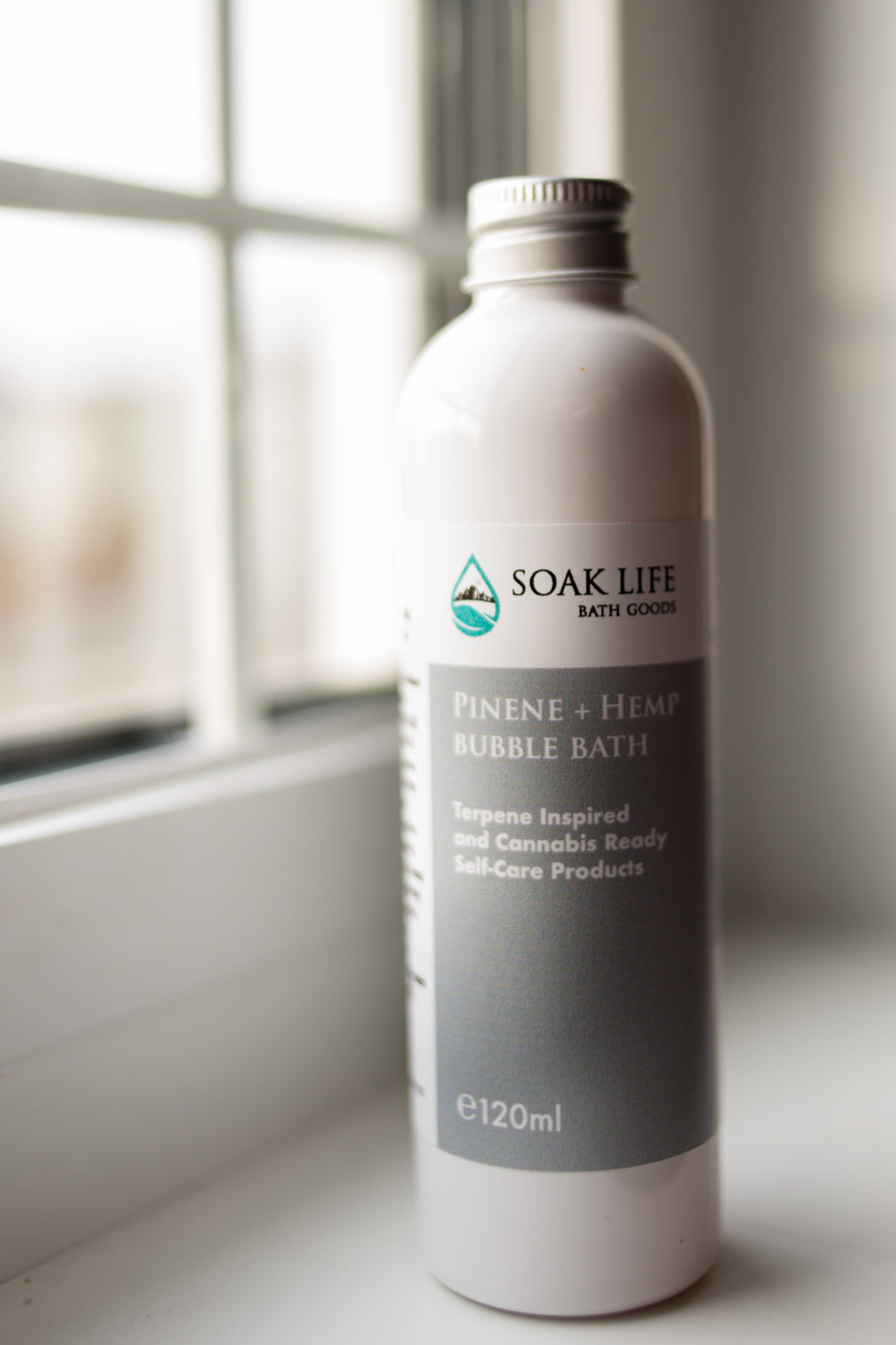 Pinene + Hemp Bubble Bath
