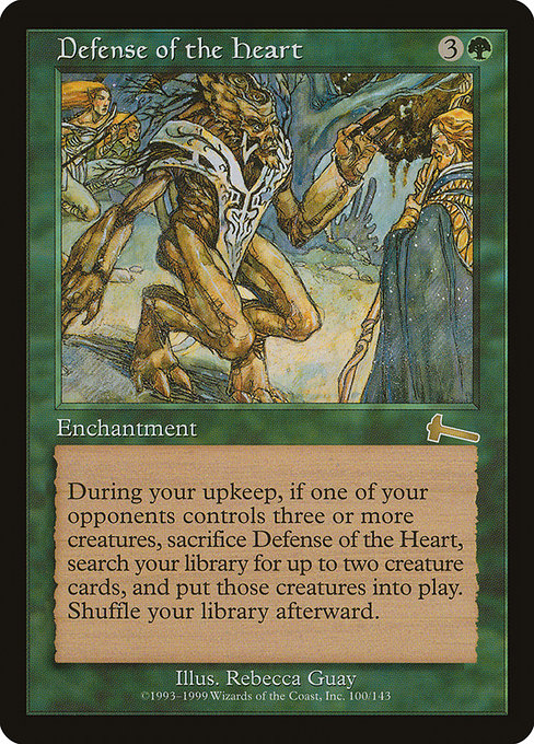 Defense of the Heart [Urza's Legacy]
