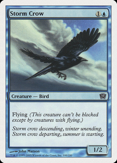 Storm Crow [Ninth Edition]