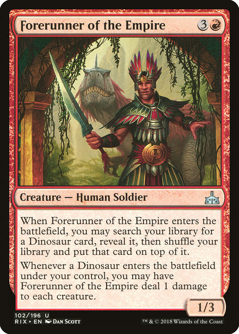 Forerunner of the Empire [Rivals of Ixalan]