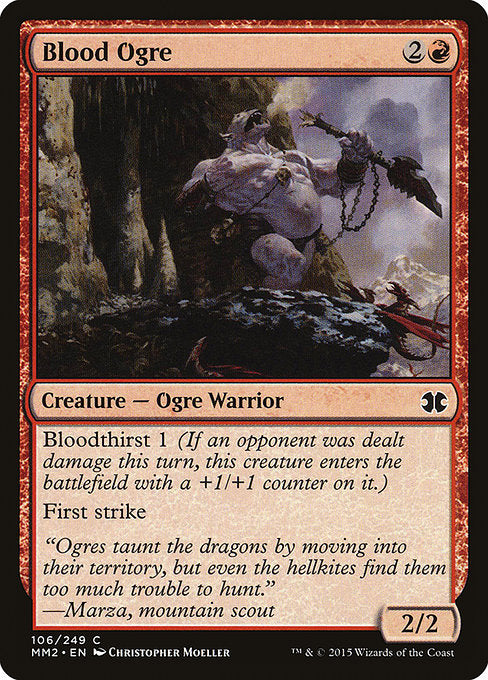 Blood Ogre [Modern Masters 2015]