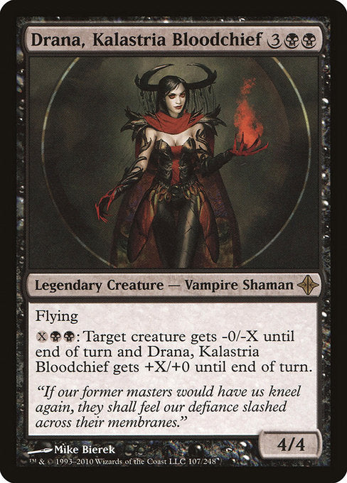 Drana, Kalastria Bloodchief [Rise of the Eldrazi]