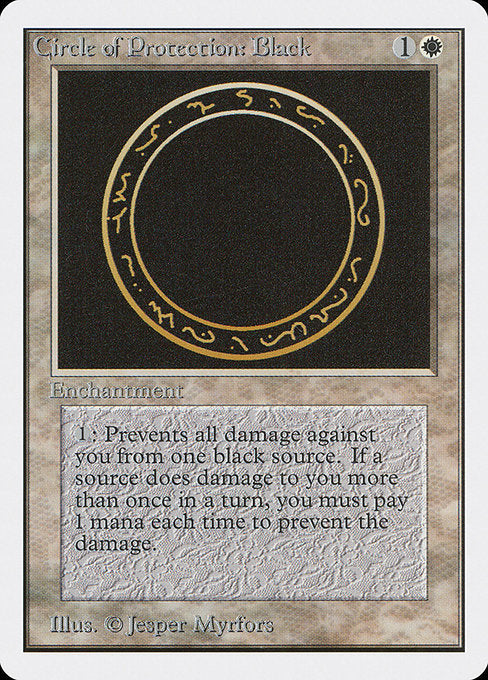 Circle of Protection: Black [Unlimited Edition]