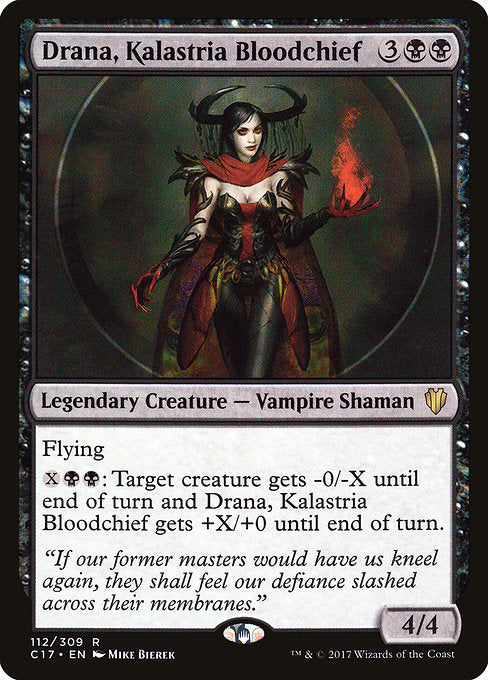 Drana, Kalastria Bloodchief [Commander 2017]