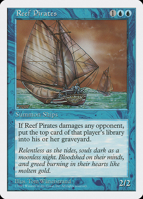 Reef Pirates [Fifth Edition]