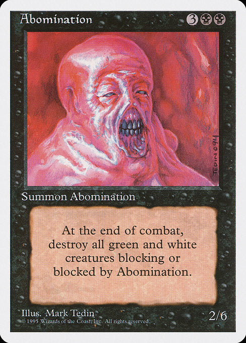 Abomination [Fourth Edition]