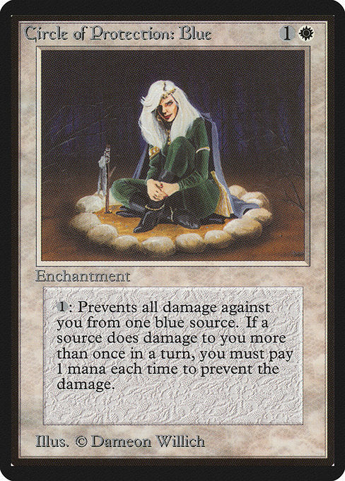 Circle of Protection: Blue [Limited Edition Beta]