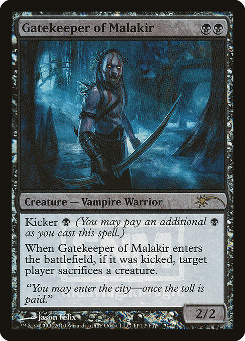 Gatekeeper of Malakir [Friday Night Magic 2010]