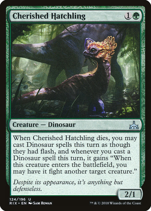 Cherished Hatchling [Rivals of Ixalan]