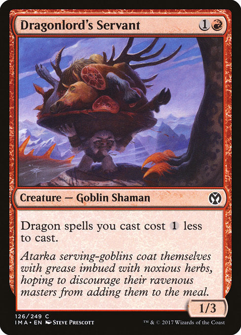 Dragonlord's Servant [Iconic Masters]