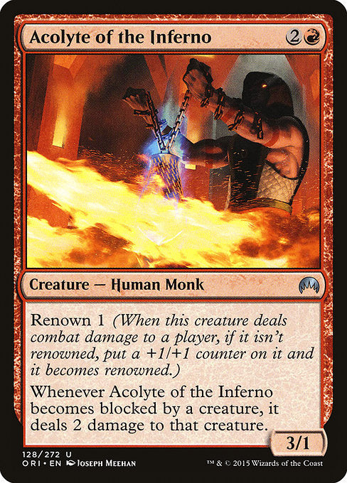 Acolyte of the Inferno [Magic Origins]