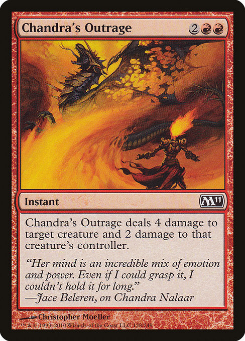 Chandra's Outrage [Magic 2011]