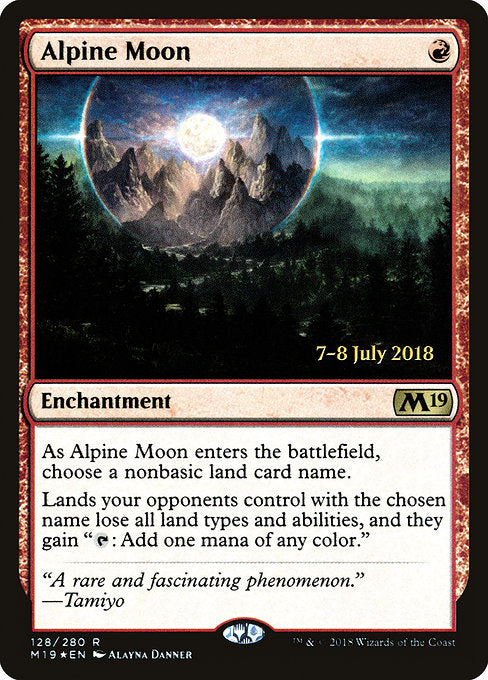 Alpine Moon [Core Set 2019 Promos]