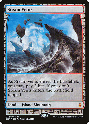 Steam Vents [Zendikar Expeditions]
