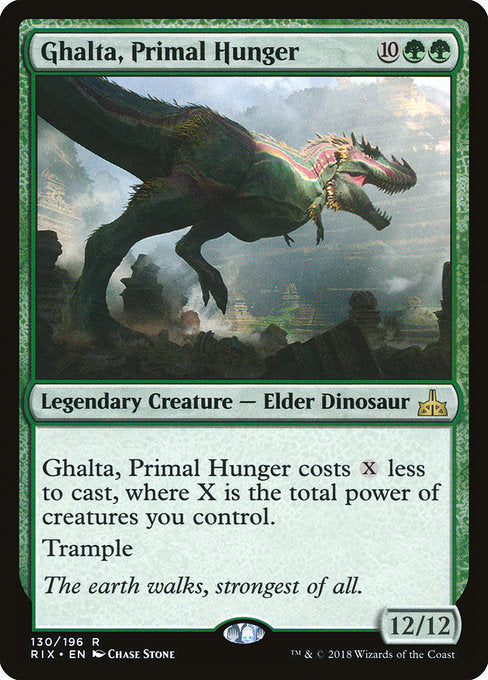 Ghalta, Primal Hunger [Rivals of Ixalan] | The Dark Side