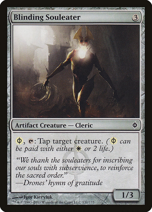 Blinding Souleater [New Phyrexia]