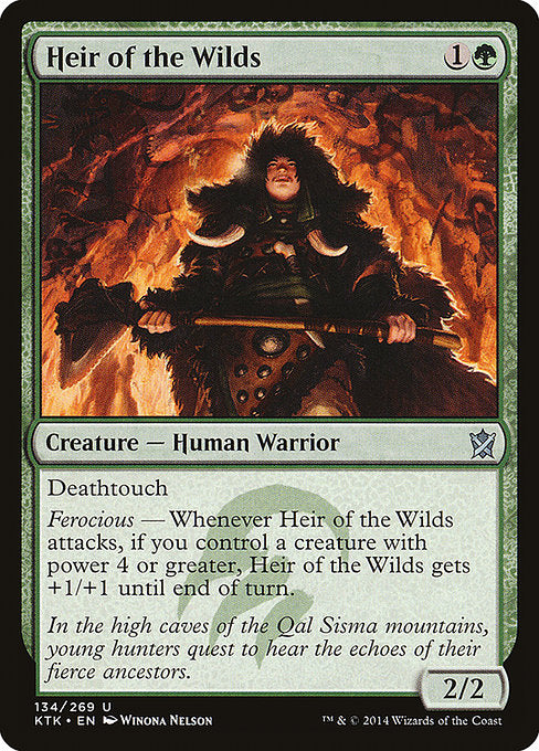 Heir of the Wilds [Khans of Tarkir]
