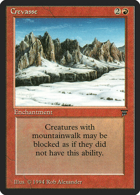 Crevasse [Legends]