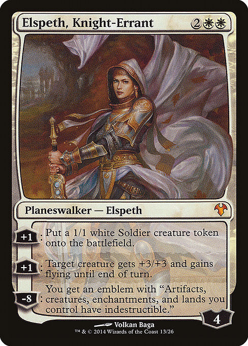 Elspeth, Knight-Errant [Modern Event Deck 2014]