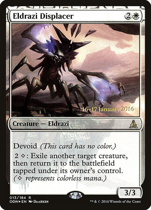 Eldrazi Displacer [Oath of the Gatewatch Promos]