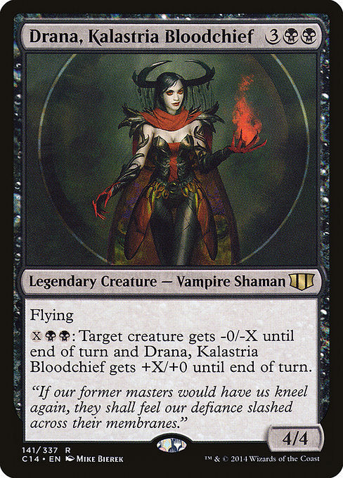 Drana, Kalastria Bloodchief [Commander 2014]