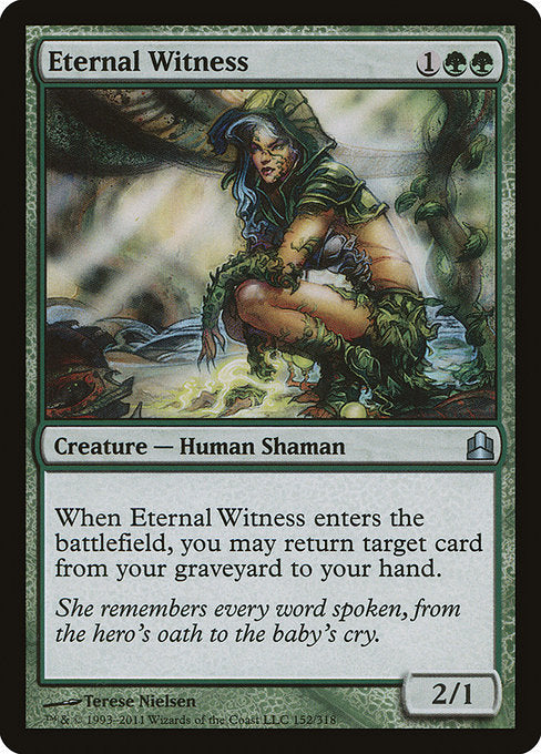 Eternal Witness [Commander 2011]