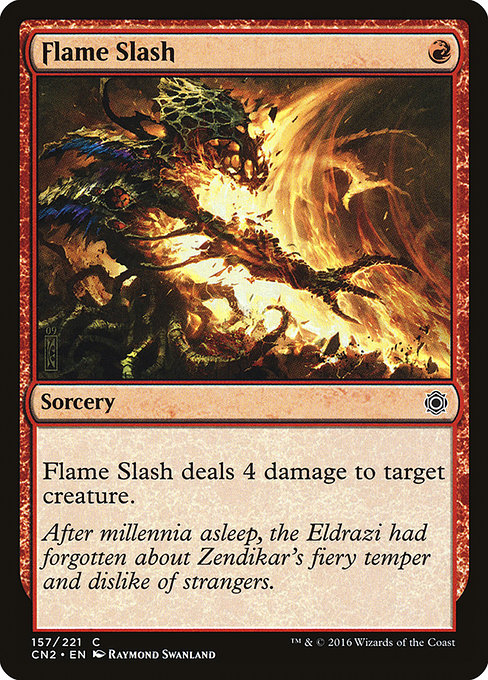 Flame Slash [Conspiracy: Take the Crown]