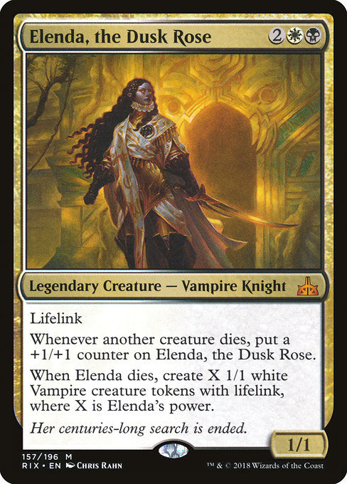 Elenda, the Dusk Rose [Rivals of Ixalan]