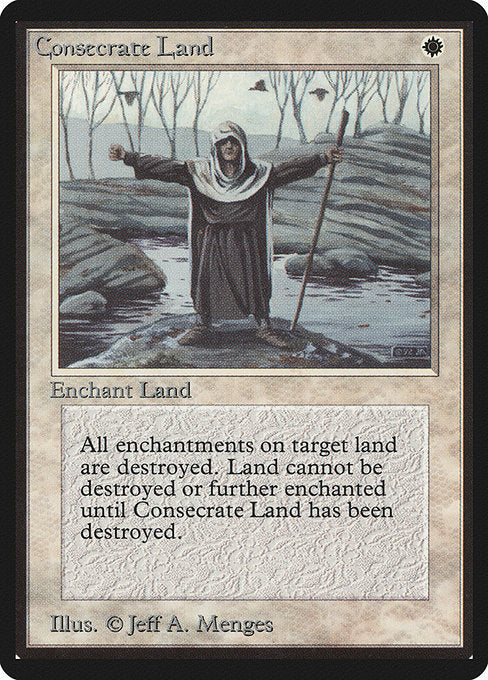 Consecrate Land [Limited Edition Beta]