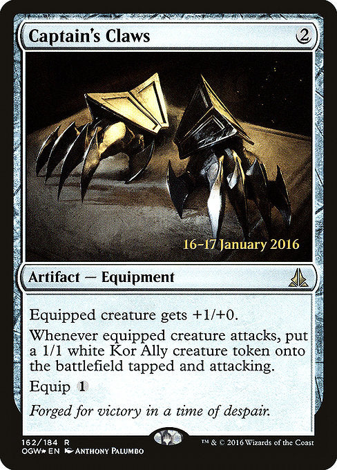 Captain's Claws [Oath of the Gatewatch Promos]