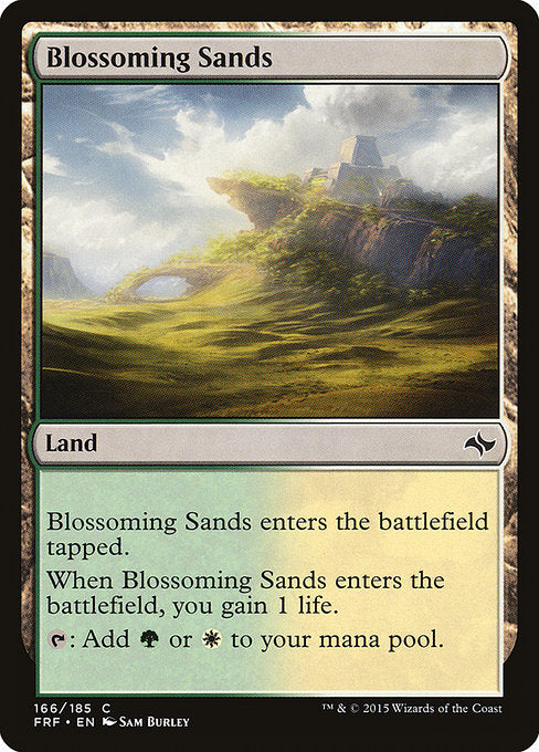Blossoming Sands [Fate Reforged]