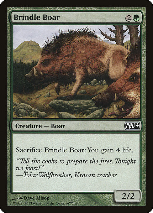 Brindle Boar [Magic 2014]