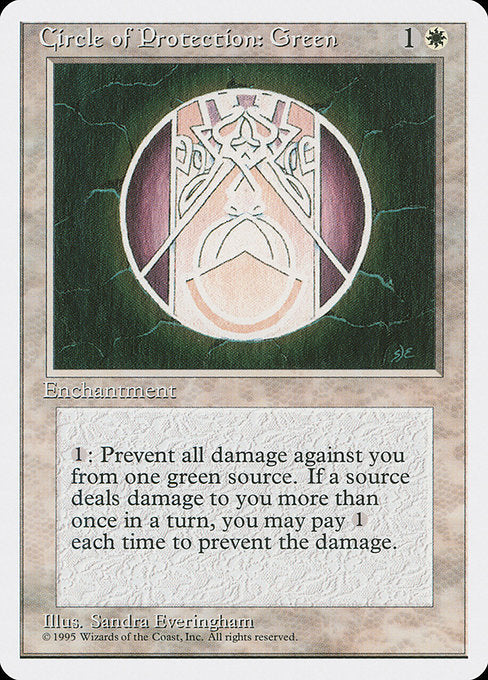 Circle of Protection: Green [Fourth Edition]