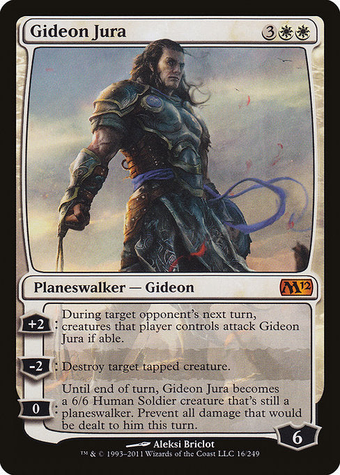 Gideon Jura [Magic 2012]