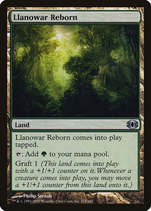 Llanowar Reborn [Future Sight]