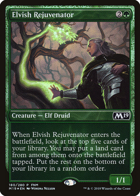 Elvish Rejuvenator [Core Set 2019 Promos]