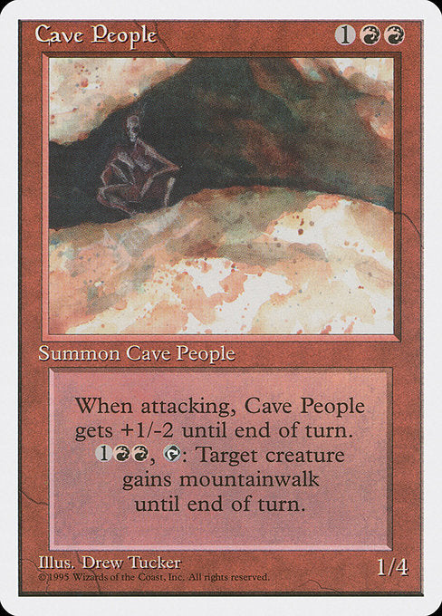 Cave People [Fourth Edition]