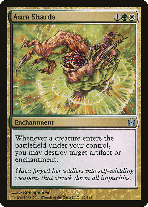 Aura Shards [Commander 2011]