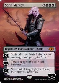 Sorin Markov [Mythic Edition: Ravnica Allegiance] | The Dark Side