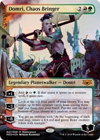 Domri, Chaos Bringer [Mythic Edition: Ravnica Allegiance] | The Dark Side