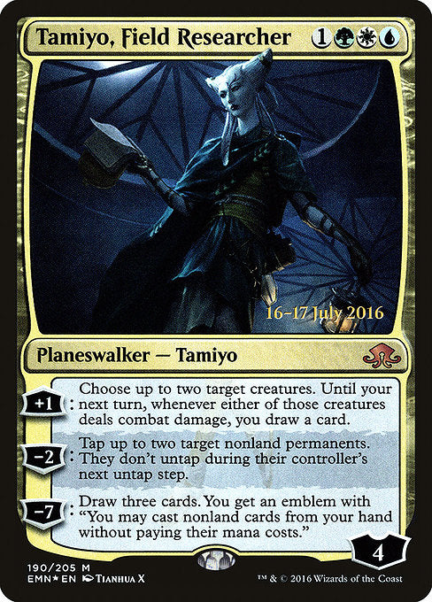 Tamiyo, Field Researcher [Eldritch Moon Promos]