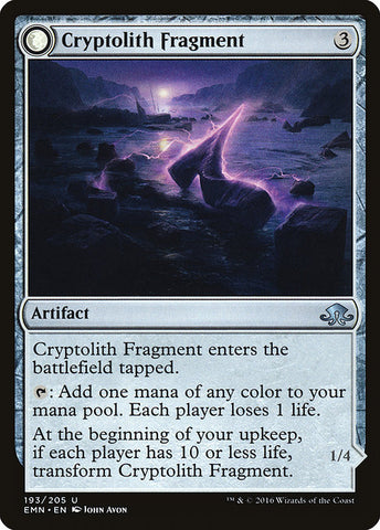 Cryptolith Fragment // Aurora of Emrakul [Eldritch Moon]