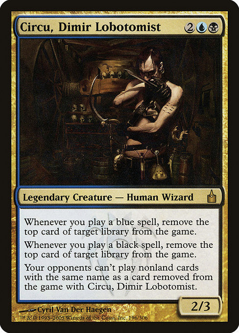 Circu, Dimir Lobotomist [Ravnica: City of Guilds]