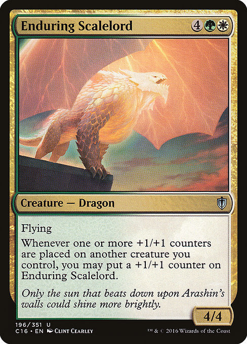 Enduring Scalelord [Commander 2016]