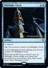 Midnight Clock [Throne of Eldraine Promos] | The Dark Side